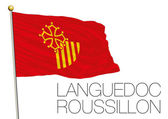 Languedoc Roussillon regional flag France