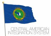 central american integration system flag cais