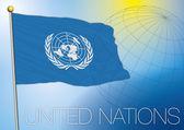 Un united nations flag