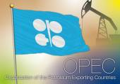 Opec flag Organization of the Petroleum Exporting Countries