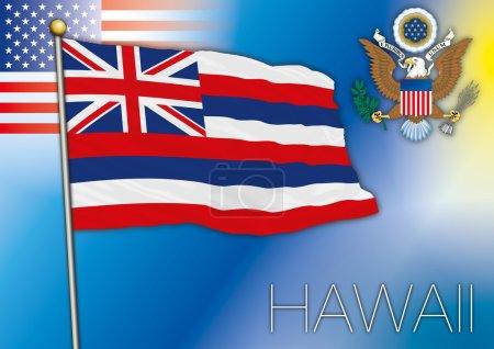 hawaii us state flag