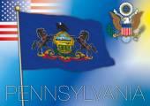 pennsylvania us state flag