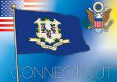 connecticut flag us state
