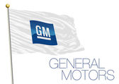 general motors cars industry flag in the wind vector file illustration editorial