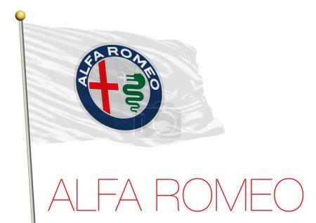 Альфа Ромео флаг