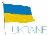 illustration Ukraine flag