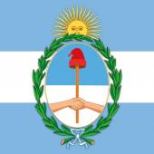 argentina coat of arm and flag