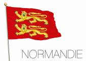 normandie regional flag france