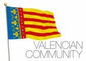 Valencian Community regional flag, autonomous community of Spain