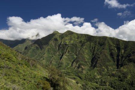 Mountainside in Iao Valley, Maui, Hawaii, USA