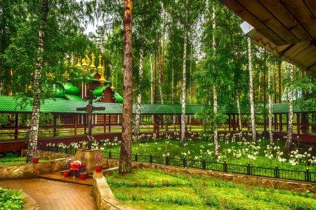 Monastery  Holy Royal Martyrs tract Ganina Yama Ekaterinburg Rus
