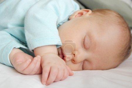 Peaceful Sleeping Newborn Infant