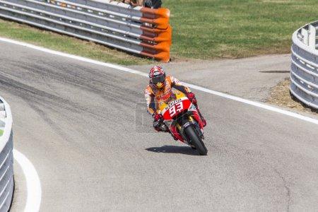 Marc Marquez of Repsol Honda
