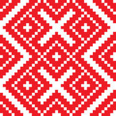 Belorussian ethnic ornament seamless pattern Vector illustration