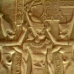 Egypt, Upper Egypt, Nile Valley, Kom Ombo temple d...