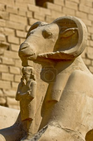 Egypt, Upper Egypt, Nile Valley, Luxor, Karnak Tem...
