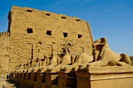 Egypt, Upper Egypt, Nile Valley, Luxor, Karnak Tem...
