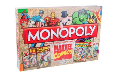 Комиксы Marvel Монополии