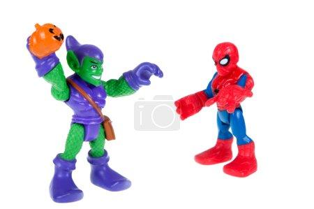 Человекпаук и Зеленый Гоблин действий