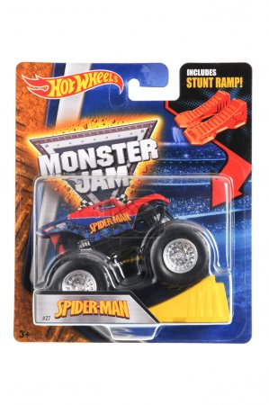 SpiderMan Monster Truck Hot Wheels