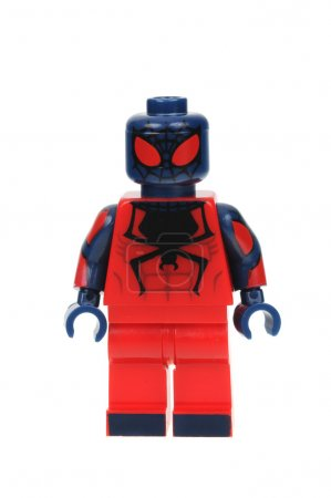 Flipside Spiderman Lego Minifigure