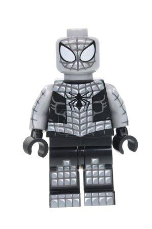 Armored Spiderman Lego Minifigure