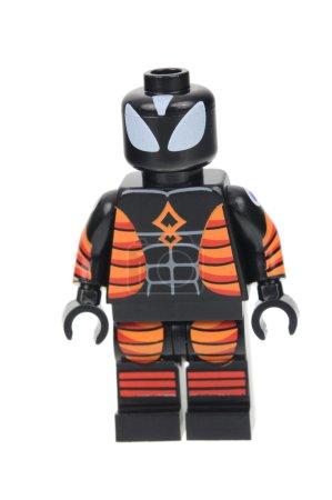 Electro Proof Suit Spiderman Lego