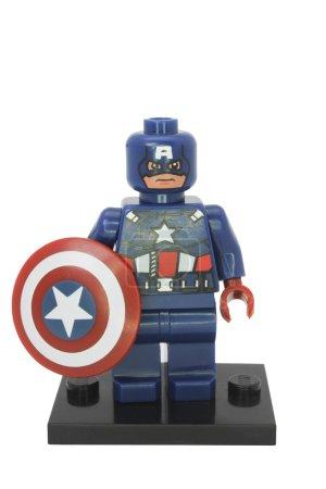 Капитан Америка Минифигурка