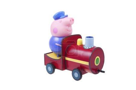 Дедушка Свиней Маленький Поезд