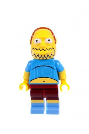 Comic Book Guy Lego Minifigure