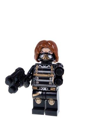 Зимний Солдат На Заказ Лего Минифигурки