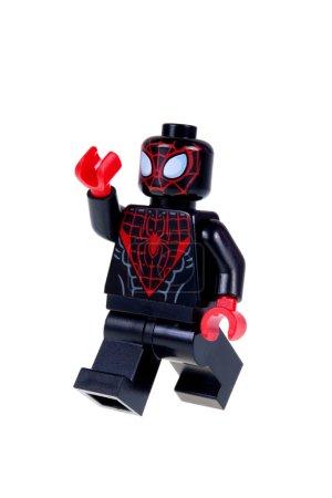 Ultimate Spiderman Lego Minifigure