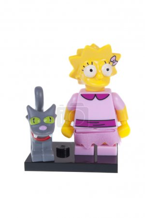Lisa Simpson Lego Minifigure
