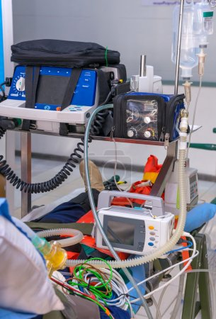 Defibrillator and medical equipments for Emergency Medical Servi