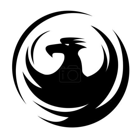 Phoenix symbol, emblem design