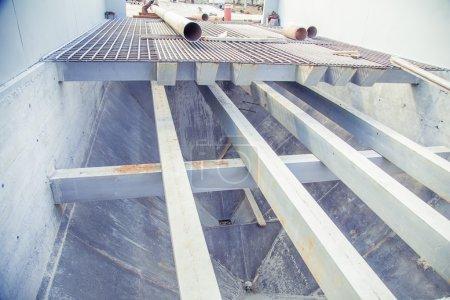 Design of beams and steel platform system...