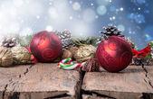Vánoční dekorace, pozadí