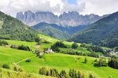 Italian landscape, Funes valley