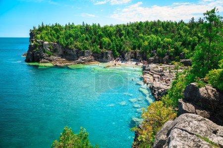 gorgeous amazing natural rocky beach