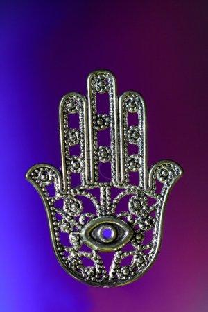 Photo pour Hamsa symbolise la chance et la protection, c'est aussi une défense contre le mauvais œil - image libre de droit