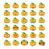 Halloween pumpkin emoji emoticons