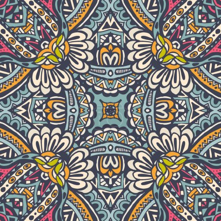 ornamental Abstract Seamless Pattern