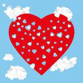 Hearts heaven love