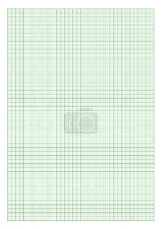 Standard A4 millimeter paper
