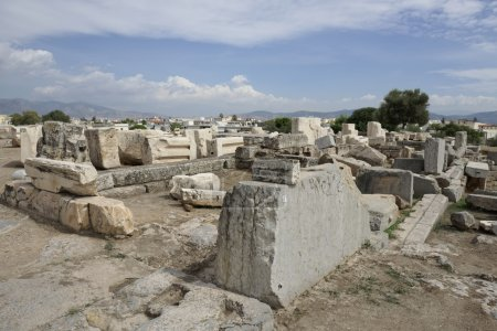 View of Telesterion, ancient Eleusis