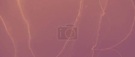 Patrón de oro de tinta. Salpicadura volcánica marrón. Arte rojo