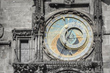 Astronomical clock from Prague city, Czech Republic