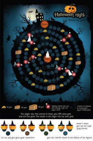 Board game - Halloween night