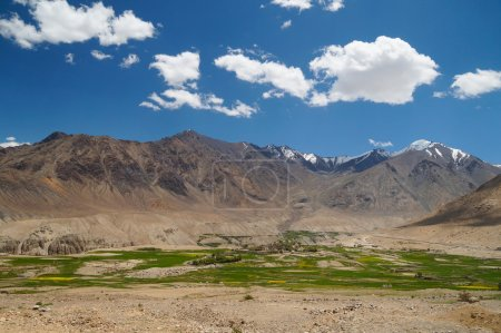 Beautiful scenic view of mountain in  Nubra valley,Ladakh, India