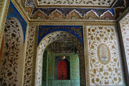 Beautiful detail of Golestan Palace,Tehran, Iran.